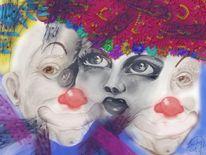 Spielen, Clown, Malerei