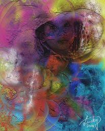 Farben, Bunt, Gedanken, Malerei