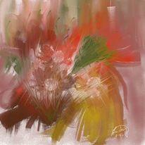 Gefangene, Blüte, Malerei
