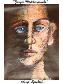 Malerei, Der anfang, Gesicht