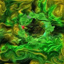 Grün, Hoffnung, Malerei