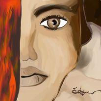Blick, Malerei, Menschen,