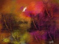 Herbst, Malerei,