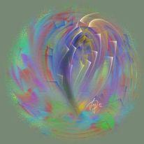 Herz, Freude, Malerei