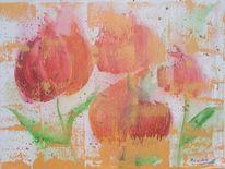 Tulpen, Malerei, Der anfang