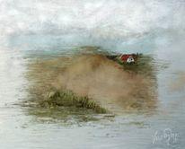 Insel, Digitale malerei,