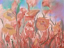 Mohnfeld, Blumen