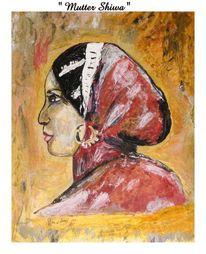 Mutter, Malerei, Der anfang