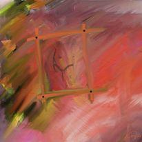 Pferdeausritt, Malerei