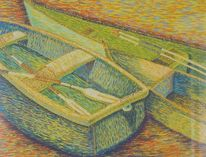 Schiff, Zeichnungen, Der anfang