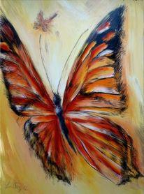 Schmetterling, Malerei