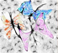 Schmetterlingstanz, Digitale kunst