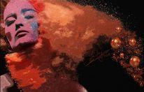 Frau, Serie, Digitale kunst, Abstrakt