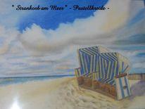 Strand, Korb, Zeichnungen, Der anfang
