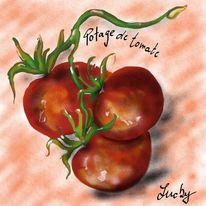 Tomate, Malerei