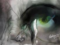 Tränen, Hoffnung, Malerei