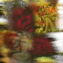 Traum, Menschen, Malerei