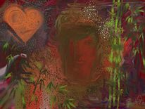Herz, Malerei,