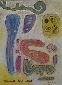 Zeichen, Malerei, Abstrakt