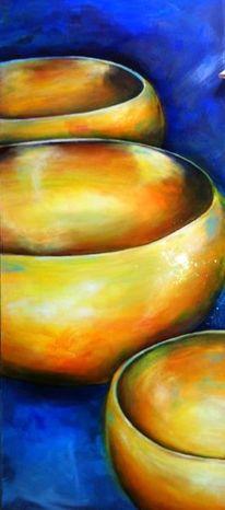 Esoterik, Entspannung, Acrylmalerei, Meditation