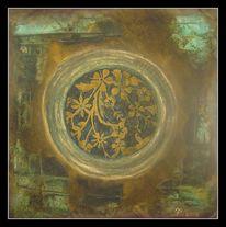 Gold, Abstrakt, Schimmer, Struktur