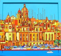 Vittoriosa, Birgu, Malerei