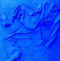 Blau, Malerei