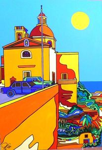 Malta, Imtahleb, Auberge, Malerei
