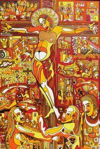 Papst, Kruzifix, Kreuz, Kreuzweg