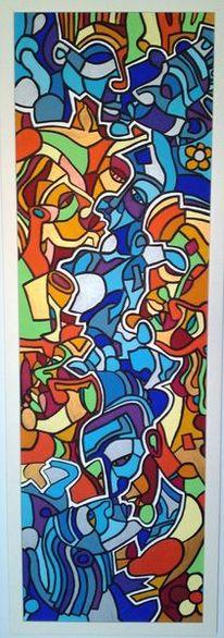 Malta, Kuss, Malerei, 2001