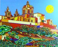 Malta, Mdina, Malerei