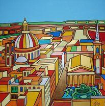 Valletta, Malta, Kirche, Malerei