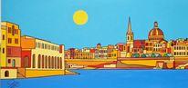 Manoel island, Valletta, Malta, Malerei