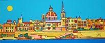 Sliema, Malta, Valletta, Malerei