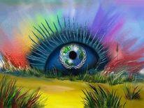 Malerei, Übers, Blick