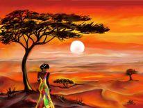 Malerei, Weite, Afrika