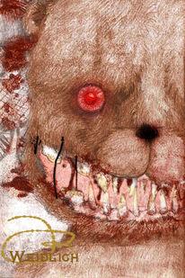 Blut, Süßes verderben, Teddy, Böse