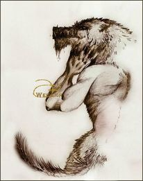 Monster, Werwolf, Fantasie, Wolf