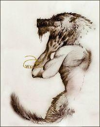Monster, Werwolf, Fantasie, Wolf