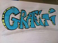 Bunt, Graffiti, Schrift, Malerei