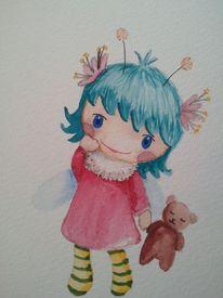 Elfen, Süßigkeit, Mädchen, Kind