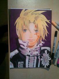 Malerei, Fanart, Manga