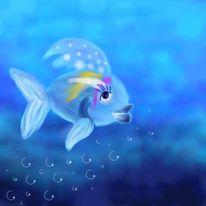 Tiere, Fisch, Malerei