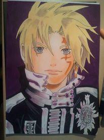 Grau, Malerei, Manga, Fanart