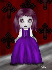 Gothic, Malerei