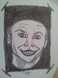 Batman, Skizze, Portrait, Zeichnung