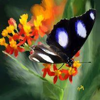 Tiere, Wild, Blumen, Malerei