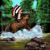 Geist, Pferde, Natur, Indianer