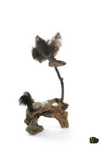 Holz, Baum, Skulptur, Modern