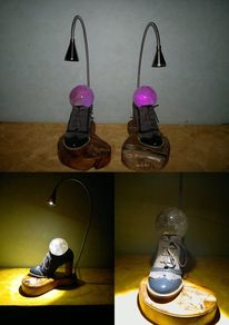Bergkristallkugel, Led, Lichtkunst, Lampe